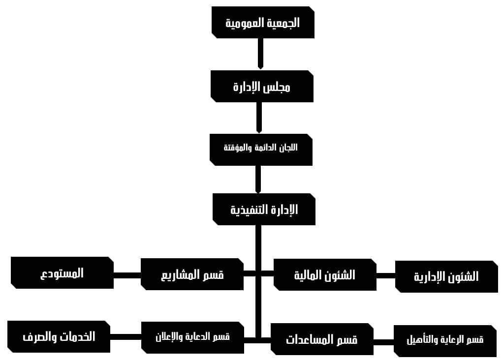 الهكيل التنظيمي
